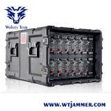 Emittente di disturbo piena del segnale di alto potere 25-6000MHz della gestione del software di frequenza della DDS impermeabile