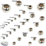 De multi Parel van de Bal van het Roestvrij staal van de Grootte met Gat voor het Maken van Juwelen