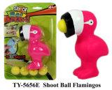 Nuevo gracioso Shoot Ball flamencos Toy