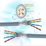 Cable modificado para requisitos particulares al aire libre de interior de la corrección de la longitud el 1m los 2m los 5m del cable de LAN del cable de puente de la muestra libre Cat5/Cat5e/CAT6 UTP CAT6