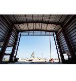 40 metros de ancho Span hangar de la estructura de acero
