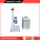Metal de la alta calidad/máquina plástica de la marca del laser de la fibra