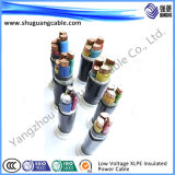 Câble protégé isolé et engainé/individuel de plastique de commande