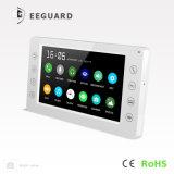 La seguridad del hogar 7 pulgadas de Video Portero automático sistema de intercomunicación Doorphone