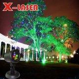 Comercio al por mayor luz de Navidad jardín al aire libre de luz láser
