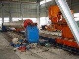 Máquina de enrollamiento semiautomática automática del tubo de FRP GRP, cadena de producción