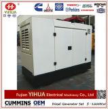 generatore diesel di Xichai Denyo del baldacchino silenzioso di 12kw/15kVA con il Ce di iso (10-300kw)