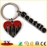 주문 선물 금속 로고 Keychain