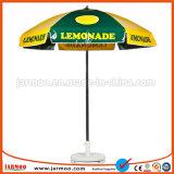Sonnenschirm für sonniges schützen sich und imprägniern