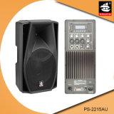 15 Spreker pS-2215au van de FM van de duim USB BR de Plastic Actieve 200W