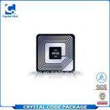 Meilleur collant personnalisé d'étiquette de tag RFID d'à haute fréquence des prix