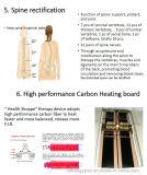 먼 적외선 판매를 위한 온난한 비취 등뼈 안마 침대 제품