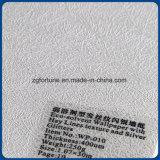 El heno alinea textura y el papel pintado de plata del solvente de Gitters Eco