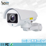 옥외 비바람에 견디는 IP66 1080P 탄알 사진기 10X 광학적인 급상승 CCTV Ahd PTZ 사진기