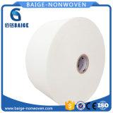 Tecidos não tecidos Spunlace simples paralelo para toalhetes húmidos