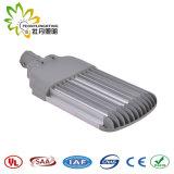 Luz de rua ajustável 150W ao ar livre do diodo emissor de luz, lâmpada de rua solar barata do diodo emissor de luz da luz de rua do diodo emissor de luz com aprovaçã0 de Ce& RoHS