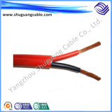 El caucho resistente/de silicón de alta temperatura aislado y forró/suavemente cable