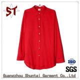 도매 여자 편리한 순수한 색깔 폴로 셔츠
