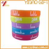 Concevoir le bracelet en fonction du client de silicones de logo