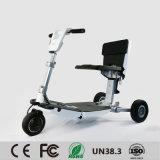 Ce/RoHS/En12184/FCC Elektrische Fiets, die de Elektrische Autoped van de Bagage, de Autoped van de Mobiliteit van de Reis vouwen