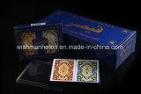 Cartões de jogo 100% puros Washable do póquer do PVC do plástico do bloco dobro