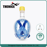 Máscara de respiração livre do mergulho autónomo 180 graus fácil à máscara do Snorkel da respiração