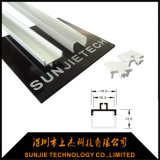 De Fabrikant van China voor het Profiel van de Uitdrijving van het Aluminium van de Douane voor het LEIDENE Licht van de Strook