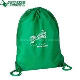 Morral ligero reutilizable respetuoso del medio ambiente del bolso de cadena del verde del bolso de compras