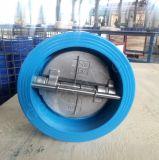 BS DIN PN16 Pn10 серый чугун обратный клапан поворотного механизма с эпоксидным покрытием поверхности