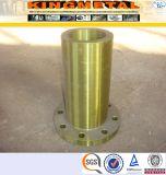 Flange longa da garganta da solda do RF do aço inoxidável de ASTM A182 F316L