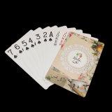La aduana plástica de las tarjetas que jugaban imprimió tarjetas del póker del PVC de 0.32m m