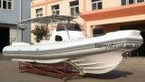 Liya 8.3m Mittelkonsolen-biegbare aufblasbare Boote für Fischen