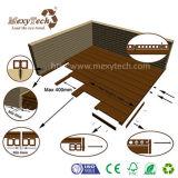 Decking en bois composé de panneau de l'usine WPC fait par les matériaux verts