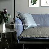 Sofà moderno del cuoio di ricezione dell'hotel della mobilia del salone