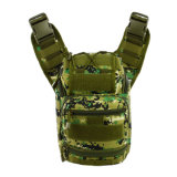 Hombres tácticos militares al aire libre del morral del recorrido del bolso del pecho del hombro que van de excursión que acampan