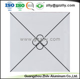 Rolo de Impressão de revestimento de alumínio à prova de tecto decorativa com a norma ISO9001