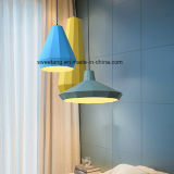 Iluminação interna da lâmpada do pendente do candelabro da decoração no alumínio