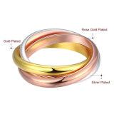 Nuevo diseño de joyas de acero inoxidable de joyería de moda Anillo de Boda
