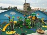 2017 جديدة [موولد] مصنع تمرين عمليّ خارجيّة ملعب منزلق لأنّ روضة أطفال
