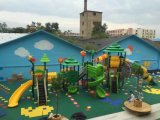 2018新しい型の工場練習の幼稚園のための屋外の運動場のスライド