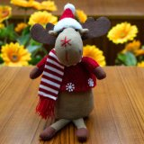 Jouet neuf de cadeau d'élans d'arrivées de la décoration 2018 de Noël