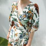 Женщин с цветочными орнаментами летние длинные платья