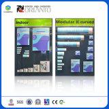 Kundenspezifisches modulares Innen- und im Freienk-Zeichen gebogenes System
