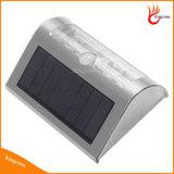 Sensor de movimento LED Solar Luz exterior para Wall Garden Street e a lâmpada do pátio da família