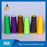 Ecológica de alta resistencia al 100% poliéster hilado colores de hilo de coser