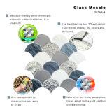 Tuile en verre souillé de mur de cuisine de mosaïque de configuration d'art à vendre