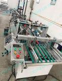 Rectángulo de los PP del ANIMAL DOMÉSTICO del PVC que pega velocidad de la máquina del plegado en abanico de la máquina automáticamente