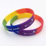 La alta calidad de silicona pulseras personalizadas pulsera de silicona