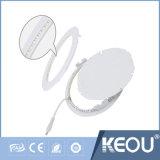 Haut lumens de lumière intégré 4W SMD2835 ronde Downlight LED pour panneau