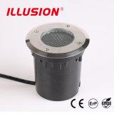 Lumière souterraine ronde du corps IP67 DEL d'acier inoxydable
